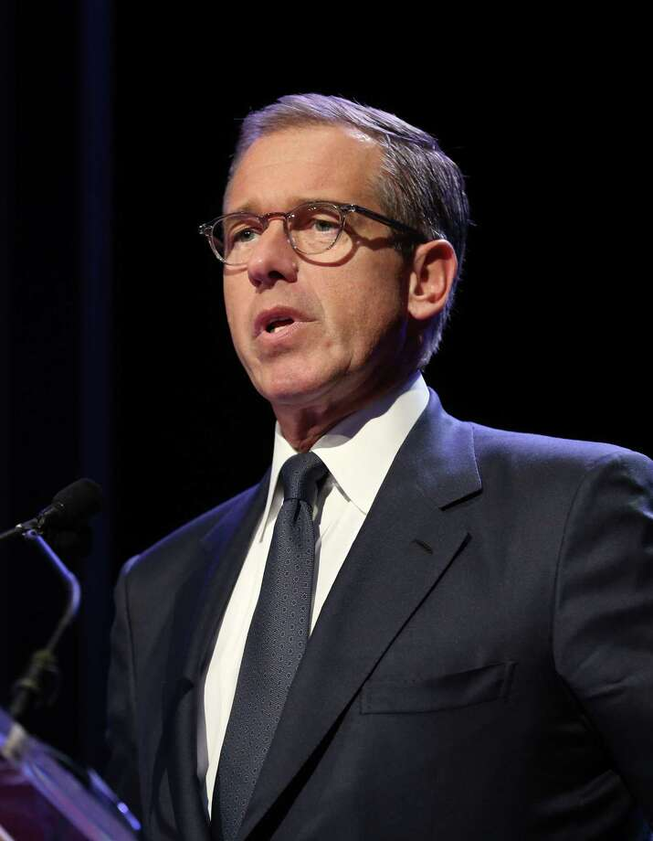 It was reported that NBC news anchorman Brian Williams is taking himself off the evening newscast temporarily as he is investigated over comments he made that misled the public February 7, 2015. Photo: Neilson Barnard, Neilson Barnard/Getty Images / 2014 Getty Images