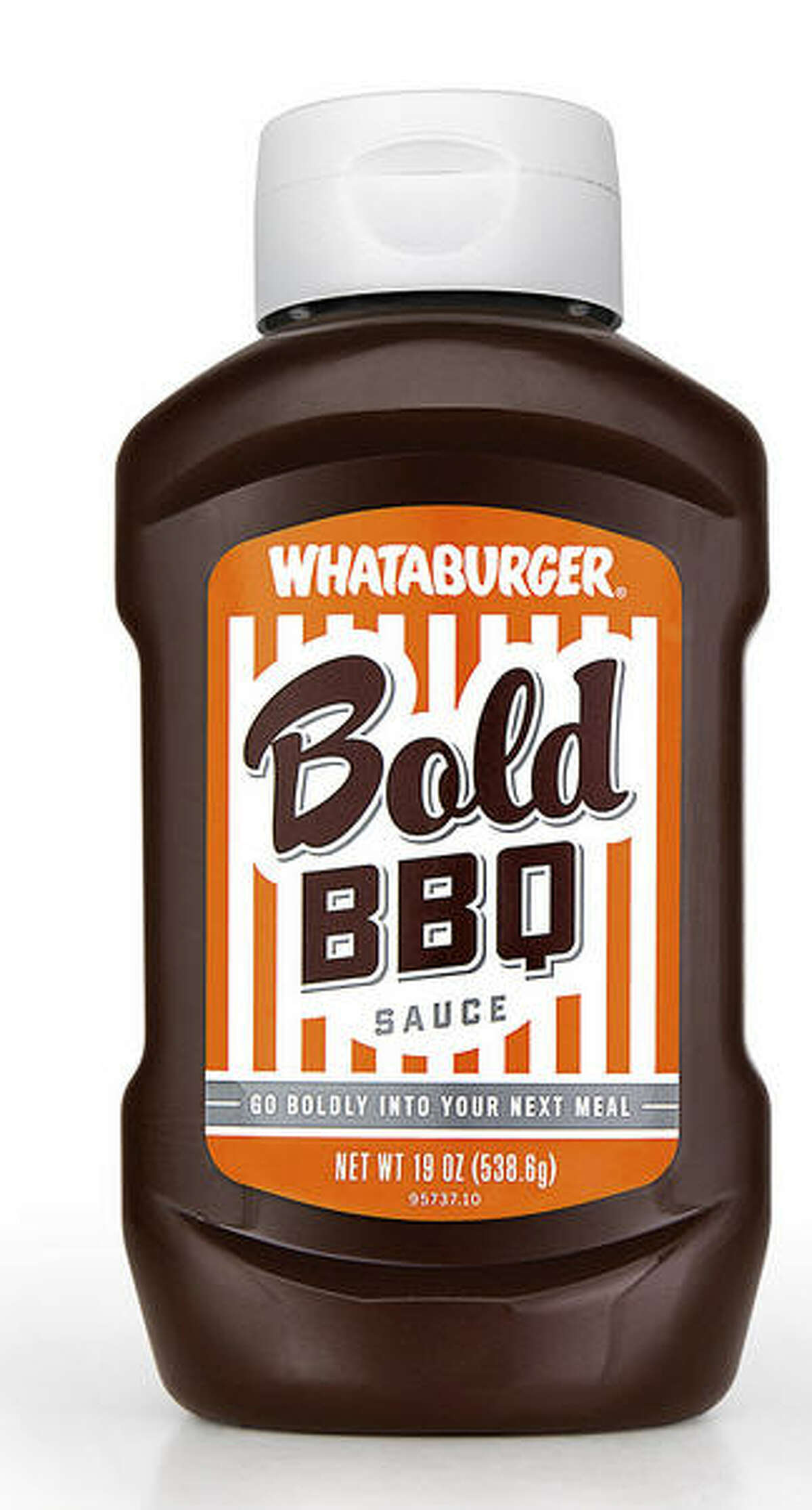 """Whataburger Bold BBQ Sauce Available in H-E-B stores statewide(added Feb. 9, 2015). Whataburger says:""""This is a Whataburger true original. For a flavor that's equal parts boldness, tanginess and awesomeness, look no further. Pour it on a sandwich, dip some chicken in it or use to baste when grilling. This Bold BBQ Sauce was used in Whataburger's BBQ Cheddar Burger."""""""