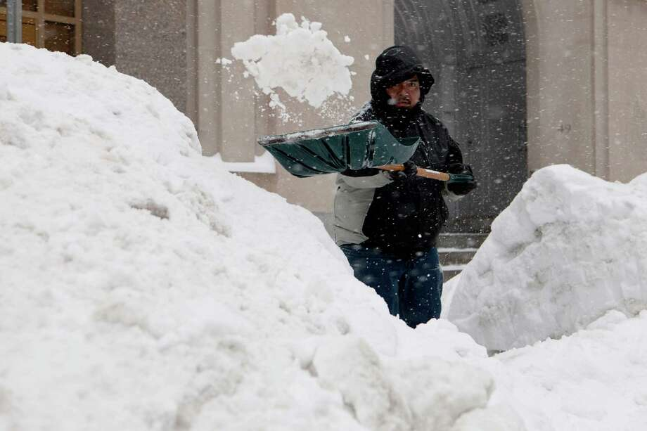 In the last 30 days, Boston has received 5 feet of snow, a record many residents are not celebrating. Photo: Kayana Szymczak / Getty Images / 2015 Getty Images