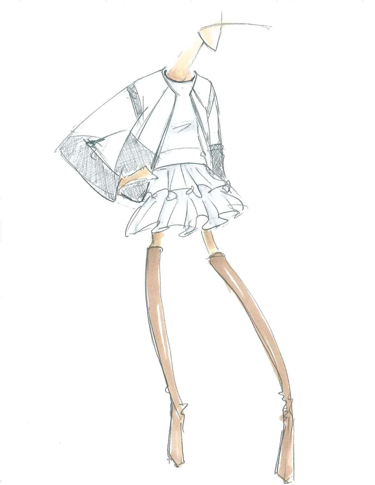 Lubov Azria, creative director of BCBG said she and her husband, designer Max Azria will use embroidered textures, prints and rich colors for their fall 2015 collection. She said the collection is