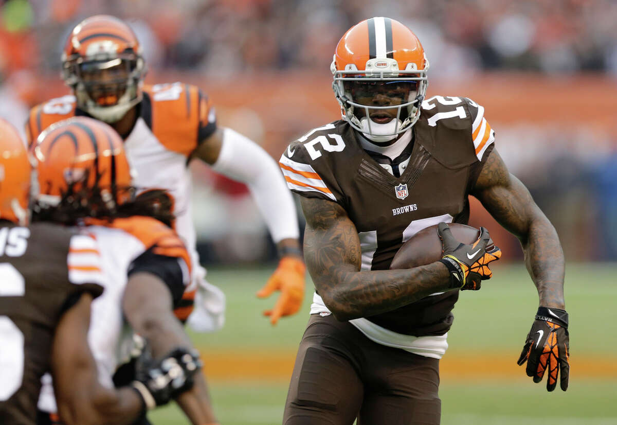 Cleveland Browns wide receiver Josh Gordon 16 games Violation of the league's substance abuse policy after testing positive for alcohol use, his third suspension since 2013.
