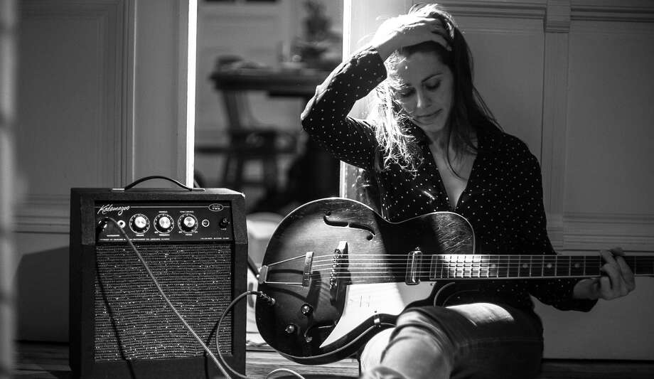 "Caitlin Canty is an up-and-coming star in the Americana music genre. Her promising new album is titled ""Reckless Skyline."" Photo: Jay Sansone / ONLINE_YES"