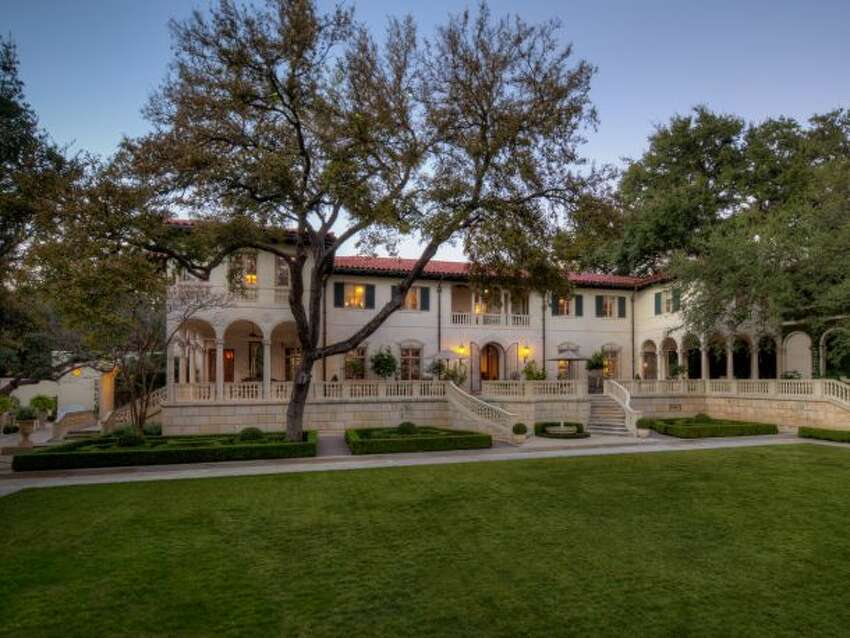 The Malcolm and Margaret Badger Reed Estate, nestled close to downtown Austin, was built in 1929 and is valued at $19.5 million. The three-story house sits on five acres and contains eight bedrooms, nine full bathrooms and six half bathrooms.