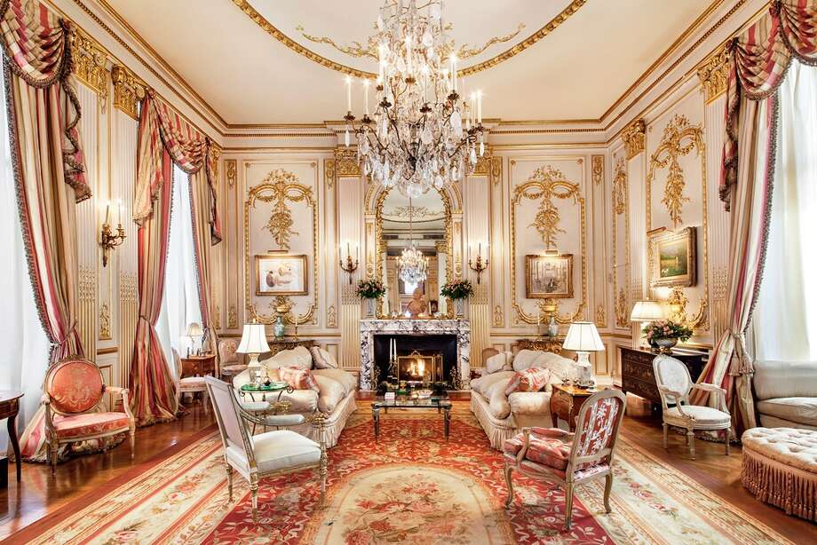 Joan Rivers' daughter is selling the late comic's $28 million penthouse just off of Central Park in Manhattan. The lavish 5,100-square-foot condominium, listed by Leighton Candler of Corcoran Group Real Estate, features palatial turn-of-the-century architecture in its 11 rooms. Photo: Corcoran Group Real Estate
