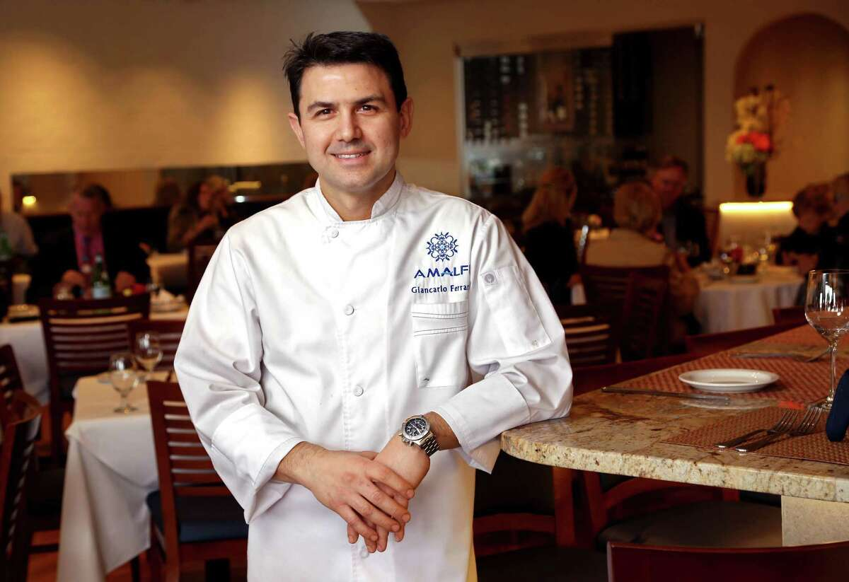 Giancarlo Ferrara, chef/owner, at Amalfi Ristorante Italiano & Bar is participating in the Houston Chronicle's annual Culinary Stars event Sept. 14.