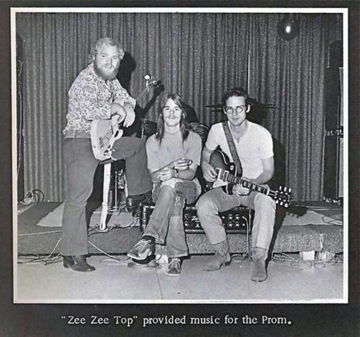 PHOTOS: A visual history of ZZ Top When other members of the Moving Sidewalks were drafted into the Army, Billy Gibbons recruited bassist Dusty Hill (center) and drummer Frank Beard (right) from Dallas band American Blues to form a new band. At this stage, they were decidedly not sharp-dressed men. See the mighty ZZ Top in their pre-beard days...