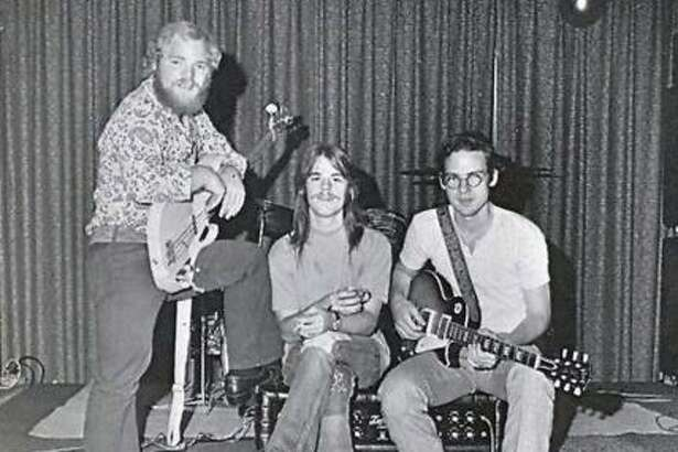 "ZZ Top in its infancy in May 1960. The band was billed as ""Zee Zee Top"" by a mistaken yearbook club editor, it appears."