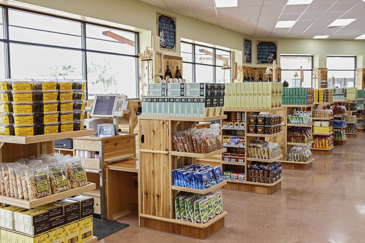 Trader Joe's check out lanes are stocked and ready for the store's Grand Opening at La Centerra Shopping Center in Katy on February 6, 2015.