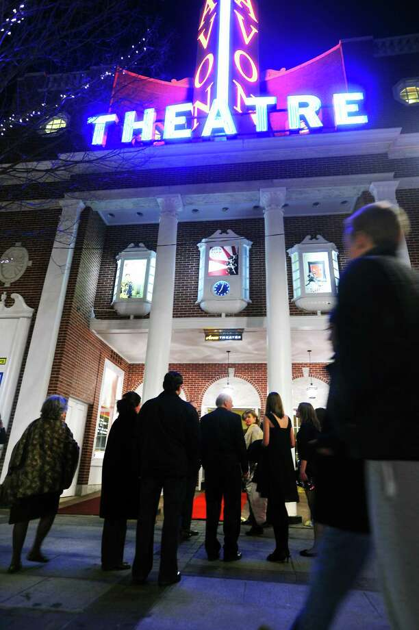 "Guests arrive on the red carpet as the Avon Theater Film Center presents ""Oscar Night, Live at the Avon"" in Stamford, Conn. on Sunday, March 7, 2010. The event, which has been held annually since 2008, returns this year on Sunday, Feb. 22, 2015. Photo: File Photo, ST / Stamford Advocate"
