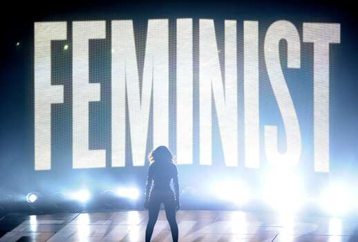 Beyonce performs onstage at the 2014 MTV Video Music Awards. Photo: Jason LaVeris, FilmMagic