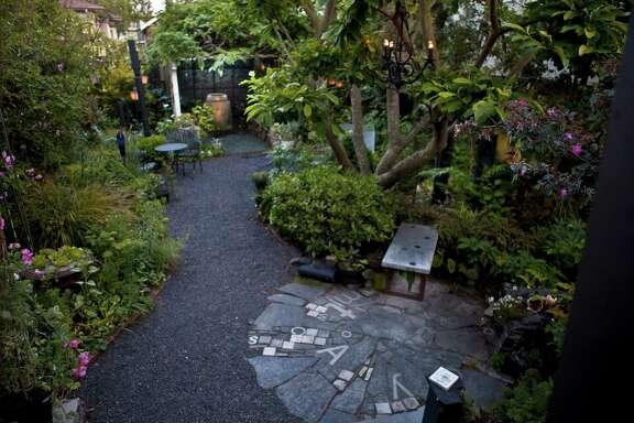 Landscape designer Shirley Watts' Alameda garden is her lab.
