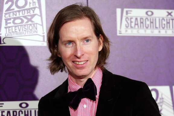 "Wes Anderson, winner of best motion picture - comedy or musical for ""The Grand Budapest Hotel"", arrives at the Fox Searchlight Golden Globes afterparty at the Beverly Hilton Hotel on Sunday, Jan. 11, 2015, in Beverly Hills, Calif. (Photo by Omar Vega/Invision/AP)"