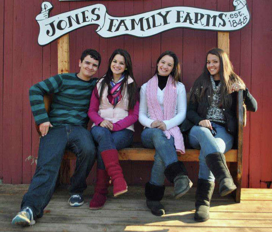 The Soto family of Stratford. From left are Matthew Soto, Carlee Soto, Jillian Soto and Vicki Soto, a first-grade teacher who was killed in the Sandy Hook Elementary School massacre on Dec. 14, 2012. Photo: Contributed Photo / Connecticut Post Contributed