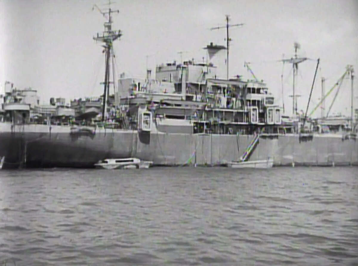 The George Vancouver now lays on the bottom of the Gulf of Mexico. In the past, it was part of a massive fleet of