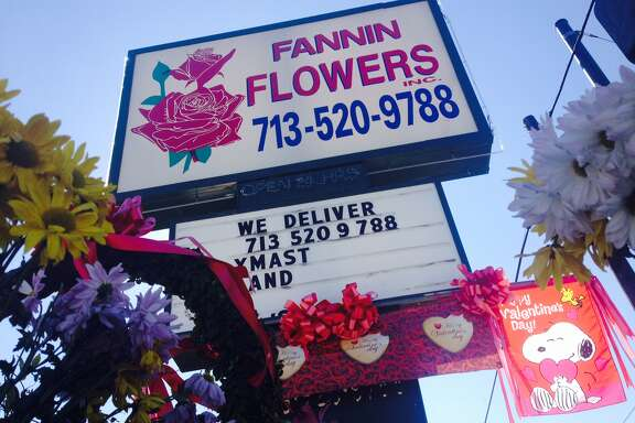 Valentine's Day is the busiest time of year for Fannin Flowers Inc., one of the few remaining flower shops on Flower Row.