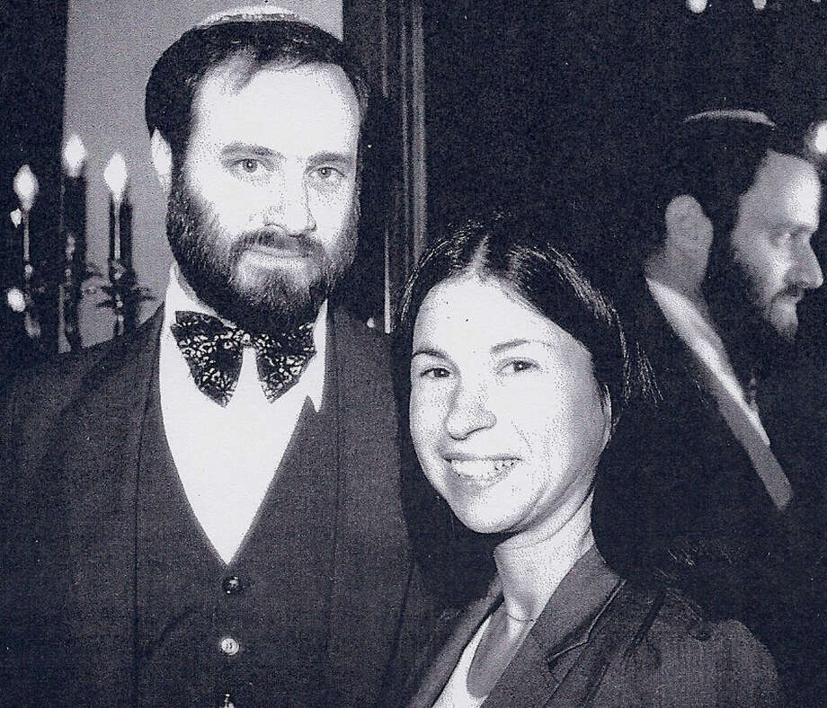 Rabbi Norman Koch and his wife, Rosalyn, shown here in a photo from early in his tenure at Temple Sholom, were at the center of Jewish community life in the Greater New Milford area since 1979. Rabbi Koch died Feb. 6, 2015 at the age of 66.  Courtesy of Temple Sholom Photo: Contributed Photo / The News-Times Contributed
