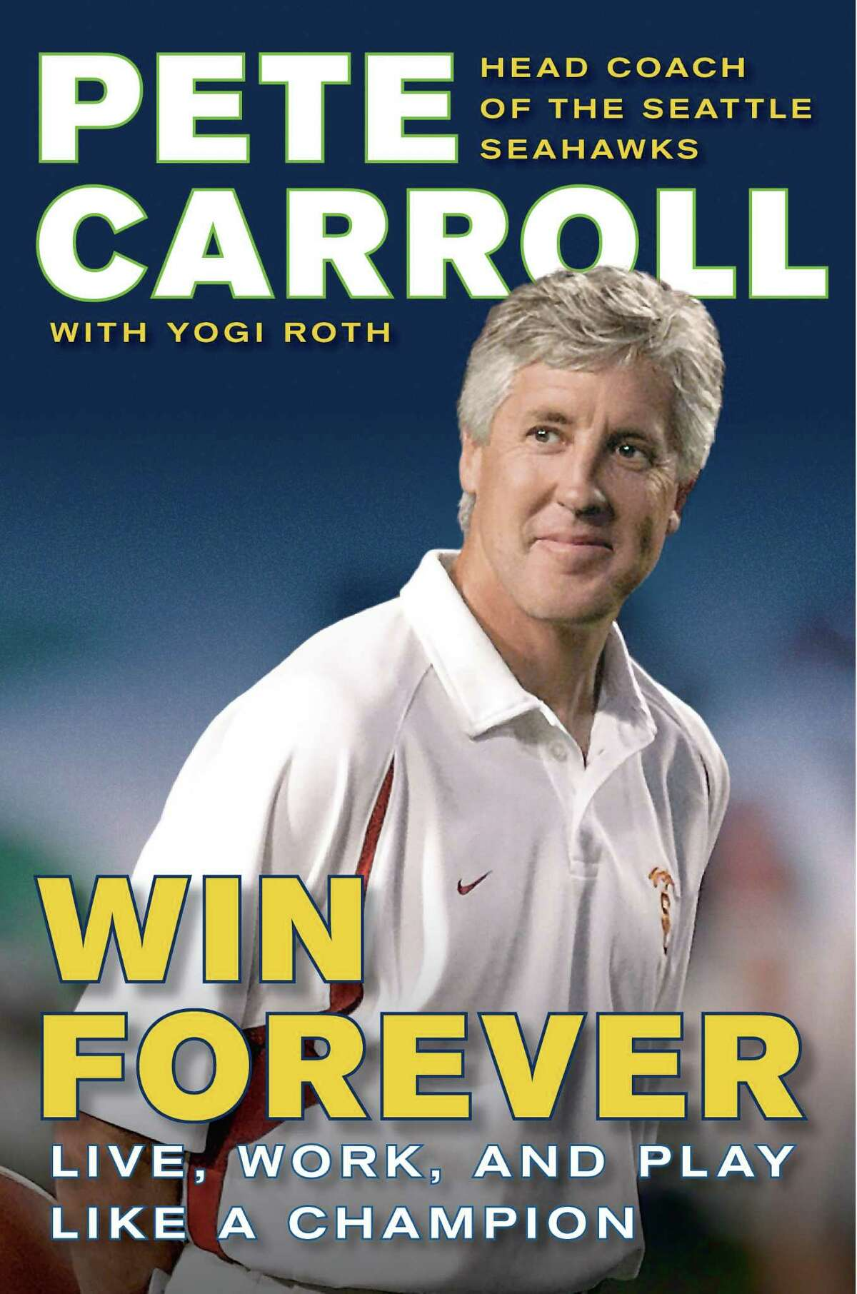 9) Pete Carroll's book wasn't titled,