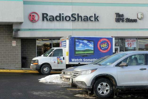 Radio Shack has placed eight local stores on its potential closing list including this one at 911 Central Avenue in Westgate Plaza on Tuesday Feb. 10, 2015 in Albany , N.Y.  (Michael P. Farrell/Times Union) Photo: Michael P. Farrell / 00030543A
