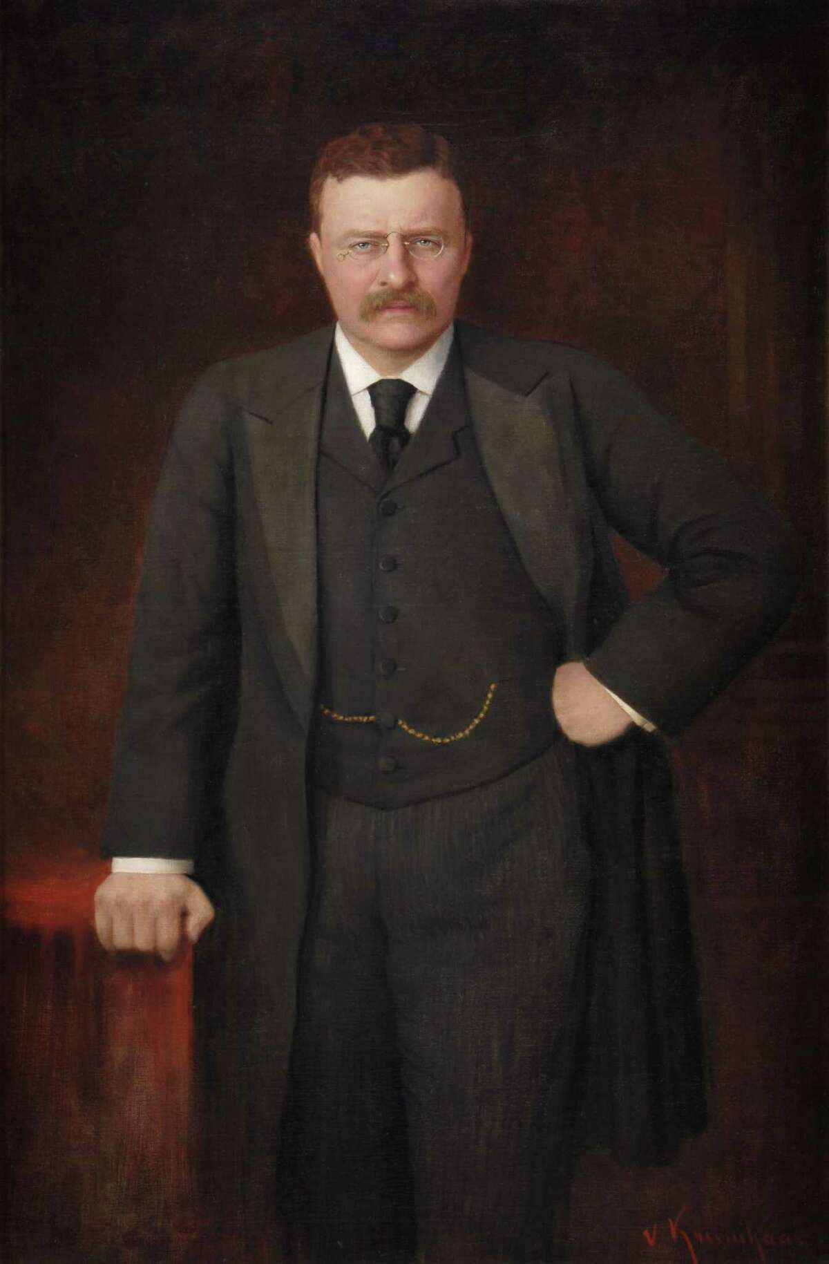 Theodore Roosevelt, 33rd Governor of New York, 25th Vice President of the United States, and 26th President of the United States