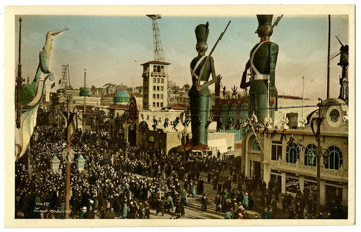 Panama-Pacific International Exposition in 1915. Courtesy, California Historical Society.
