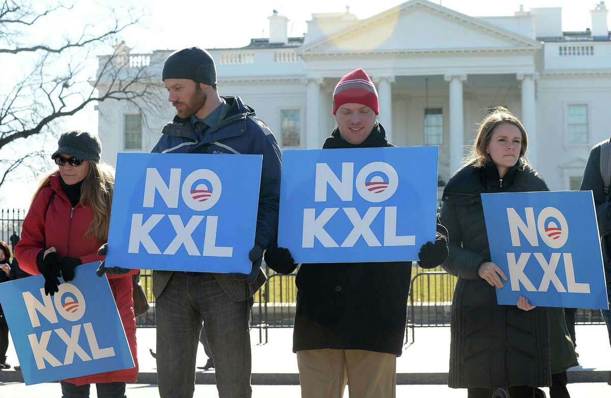 As environmentalists' opposition stalls the Keystone XL Pipeline, companies are proposing other projects for getting Canadian crude to refineries and ports. (Olivier Douliery/Abaca Press/TNS)