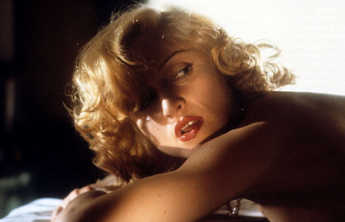 Madonna in a scene from the film