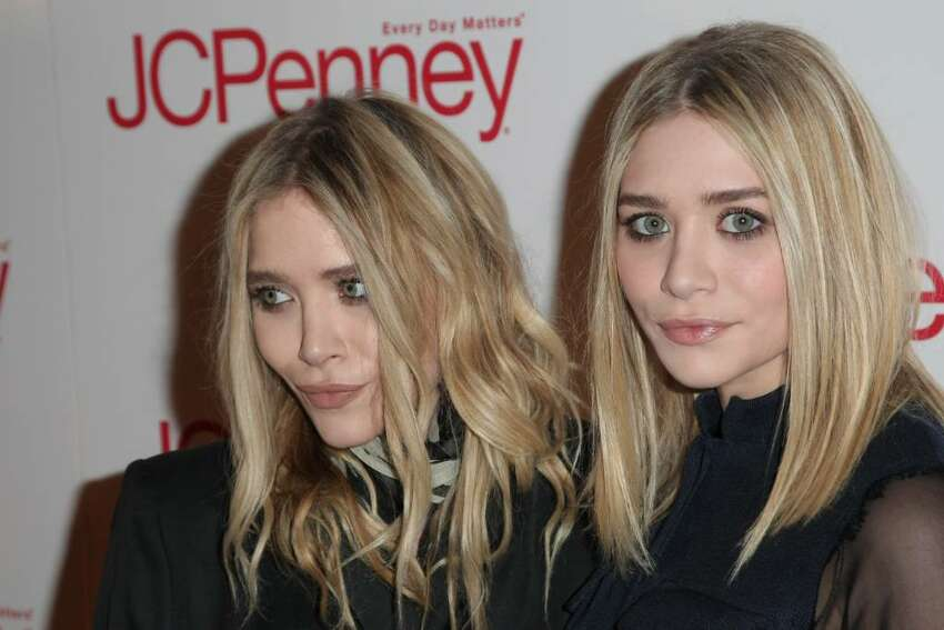 NEW YORK - MARCH 02: Ashley Olsen (L) and Mary-Kate Olsen attend the JCPenney Discover Spring Style event at Alice Tully Hall, Lincoln Center on March 2, 2010 in New York City. (Photo by Neilson Barnard/Getty Images for JCPenney) *** Local Caption *** Ashley Olsen;Mary-Kate Olsen
