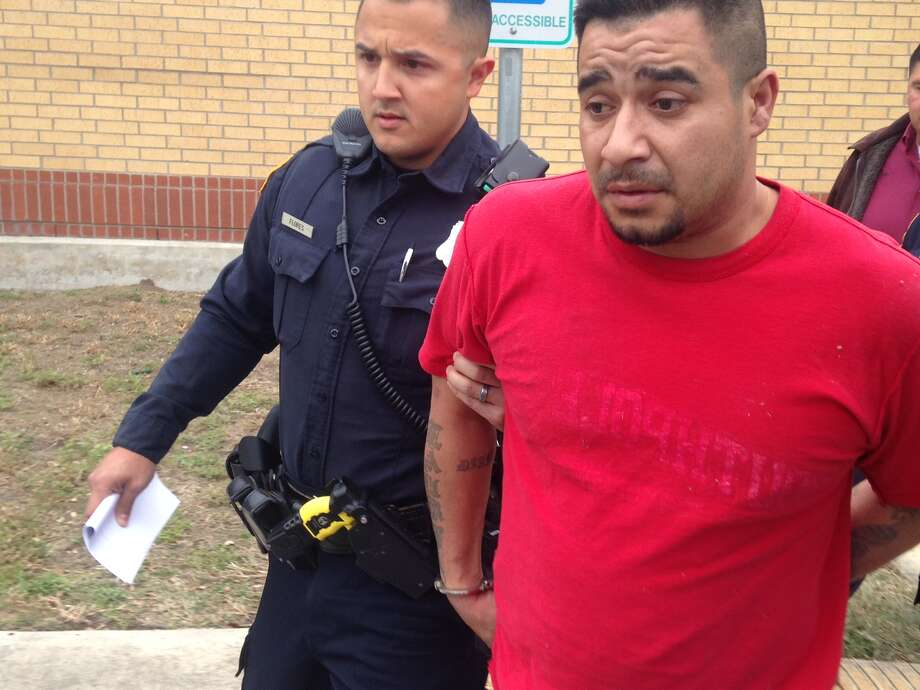 Antonio Hernandez has been arrested for allegedly ramming his car into a Dollar General on the East Side in Santonio, attempting to rob a nearby gas station and then returning to the Dollar General to rob the store a second time. He made off with two cases of Budweiser beer and about 140 DVDs before police caught up with him.Read more: Police: Man rammed car into Dollar General, stole Budweiser Photo: Josh Fechter