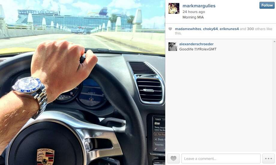 "These screenshots show the lifestyle of ""the rich kids of Instagram."" The kids – who claim they are travelers, entrepreneurs or real estate brokers – are making headlines as they share overly filtered photos of what they think is a fabulous life filled with cars, couture, jet planes and exotic pets. Photo: Instagram Screenshots"