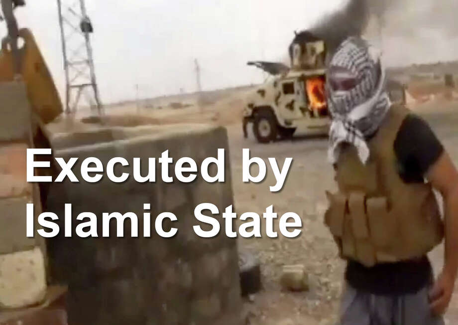 Terrorist group Islamic state executed their first Western hostage in September, 2014 with the gruesome beheading of James Foley. Since then the group has executed dozens of others includes their own deserters. Here is a look at some of the hostages whose executions have gained the most international attention.  / AP2014