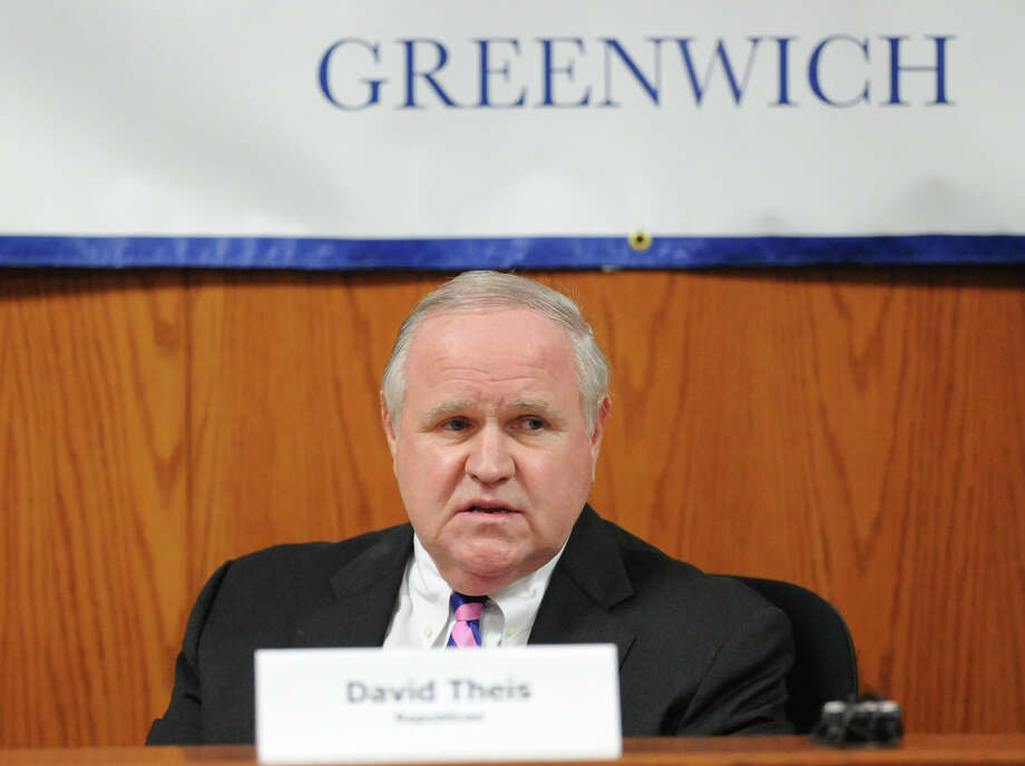 "Greenwich Selectman David Theis died Dec. 23, 2014. For those who wish to remember and acknowledge him, a David Theis Memorial Fund Scholarship is being set up in his name. Donations may be sent to The Greenwich Scholarship Association noted ""Theis Memorial,"" PO Box 4627, Greenwich CT 06831. For further information, see www.greenwichscholarship.org. Photo: Bob Luckey / Greenwich Time"