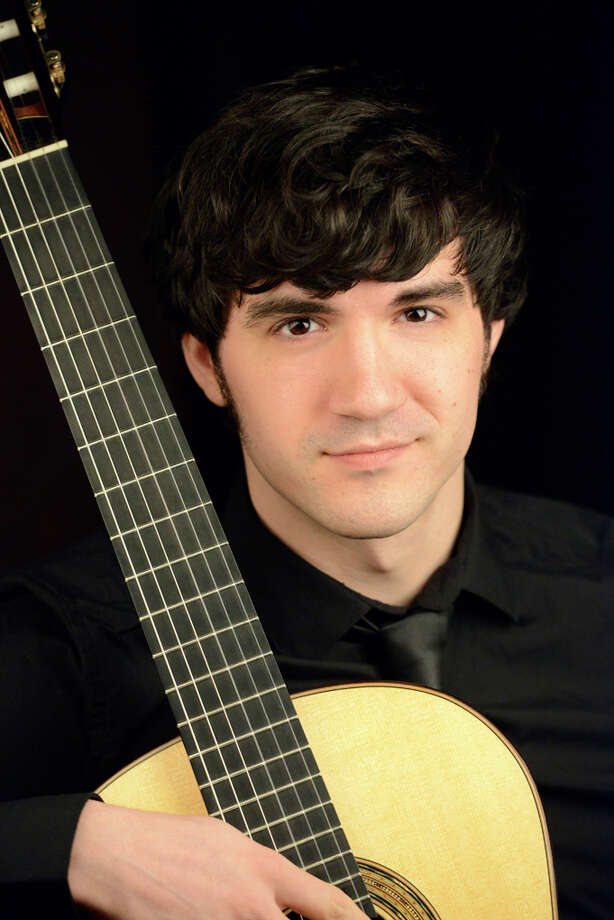 Guitarist Jordan Dodson will perform March 7 at the Pequot Library. Photo: Contributed Photo / Fairfield Citizen