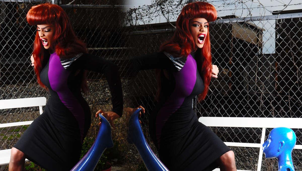 """RuPaul's Drag Race"" Season 2 winner Tyra Sanchez."