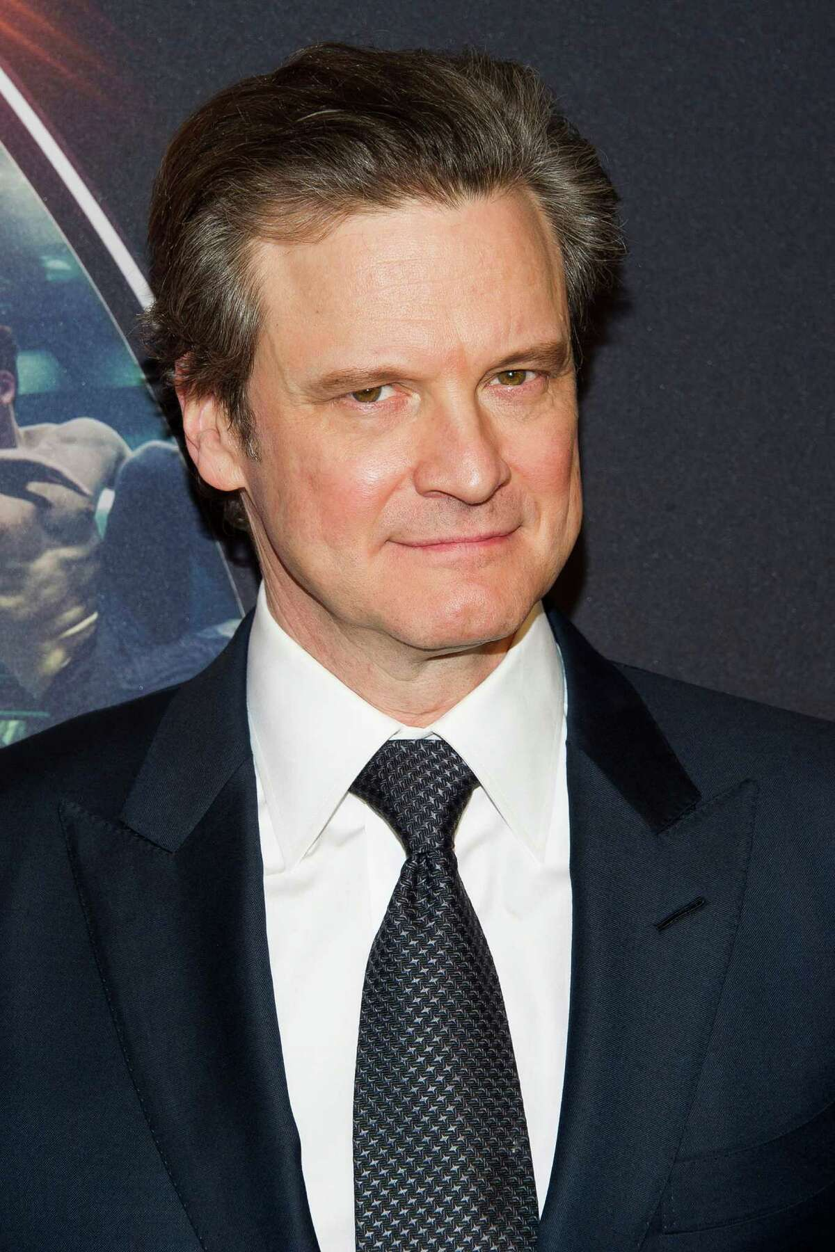 """Colin Firth attends a special screening of """"Kingsman: The Secret Service"""" at the SVA Theatre on Monday, Feb. 9, 2015, in New York. (Photo by Charles Sykes/Invision/AP) ORG XMIT: NYCS109"""