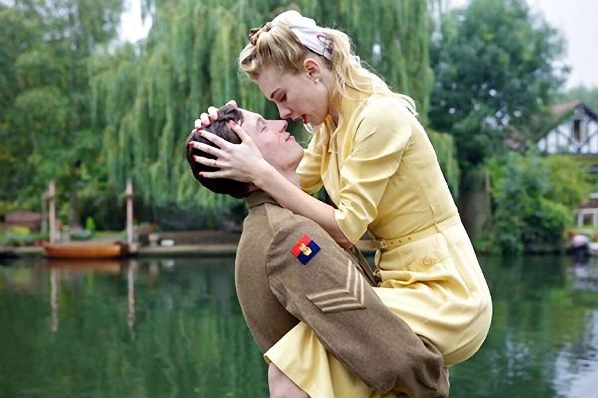 """Callum Turner (left) plays Bill and Vanessa Kirby his sister in """"Queen and Country,"""" the sequel to 1987's """"Hope and Glory."""""""