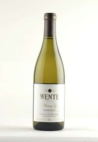Wente 2013 Chardonay Thursday Oct. 9, 2014, at the Times Union in Colonie, N.Y. (Will Waldron/Times Union) Photo: WW