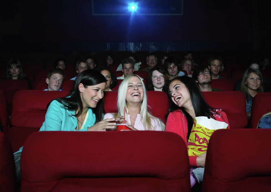 """""""I just got this for free!"""" Americans watch a lot of movies this time of year, and someone is going to eat popcorn left behind in the theater. We have to admit to this one from our younger days. You walk into a theater and sitting on a seat is a half-full $20 bucket of popcorn … You wonder, How bad could it be? (Not to mention going to the theater with distant cousins and sharing the popcorn … Because they're related, you just know they all washed their hands, especially the 10-year-old.) Photo: Erik Dreyer, Getty Images / (c) Erik Dreyer"""