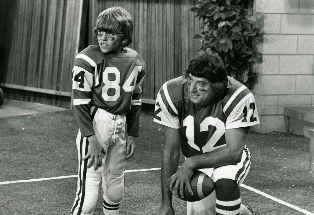 Fictional Bobby's (Mike Lookinland) friends know he's bluffing after he boasts that he personally knows Joe Namath (guest-starring as himself). Cindy decides to help Bobby out of the mess by writing a letter to the New York Jets' superstar, suggesting that Bobby is deathly ill and wants to meet him as his last wish.