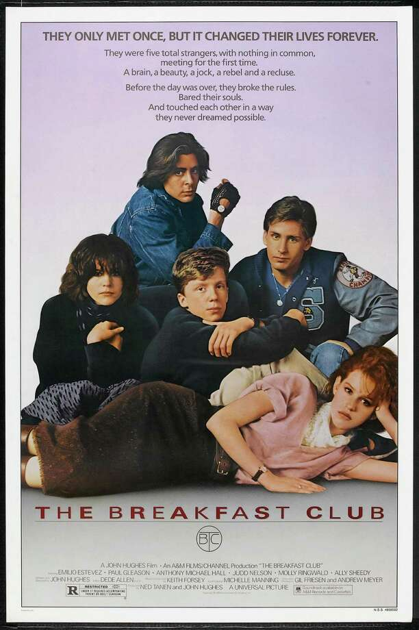 "Brat Pack classic ""The Breakfast Club"" debuted in February 1985 - that's right, 30 years ago this month.For those unschooled in '80s film, it's the story of five high schoolers in detention who think they have nothing in common but their contempt for their school principal. As the day progresses, the teens representing disparate high school stereotypes find they are more alike than anyone could know. Photo: Buyenlarge, Getty / Moviepix"