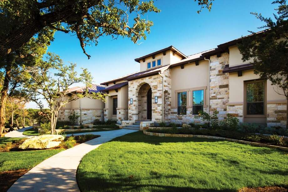 A custom home by Partners in Building in the Hill Country. Photo: Partners In Building