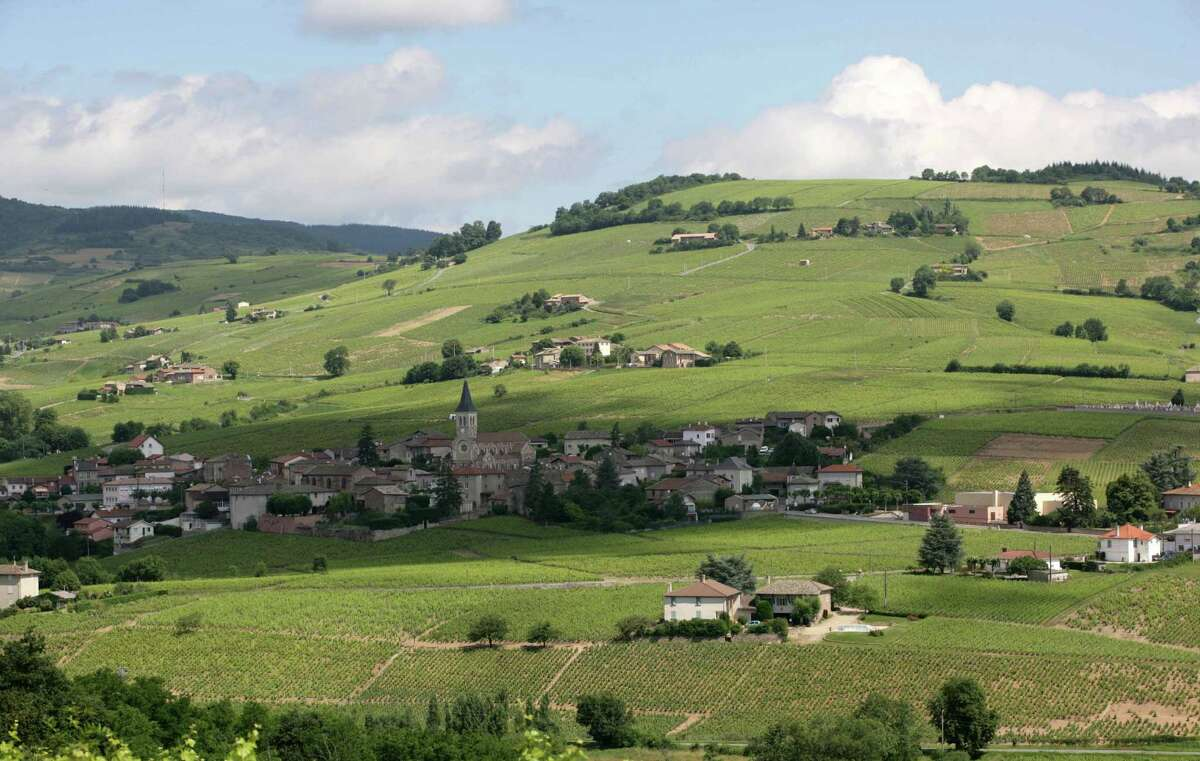 The village of Julienas, one of the 10 crus of Beaujolais. Less known than some of its counterparts, Julienas has become a hotspot for a quality push in the region.