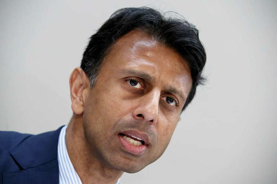 Louisiana Gov. Bobby Jindal talks about his plan for national education reform at a policy breakfast on Capitol Hill in Washington, Monday, Feb. 9, 2015. If he runs for president, Jindal is expected to make education a central part of his message with a focus on his opposition to Common Core.  (AP Photo/J. Scott Applewhite) Photo: J. Scott Applewhite, STF / AP
