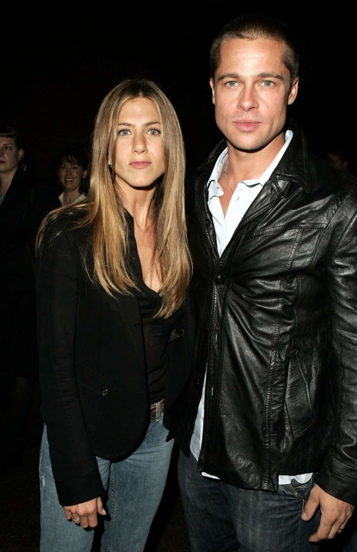 January 2005: Divorce from Aniston announced Pitt and Jennifer Aniston announce that they are splitting after 4 1/2 years of marriage amid rumors of Pitt's infidelity. Pitt denies Jolie is behind the split.