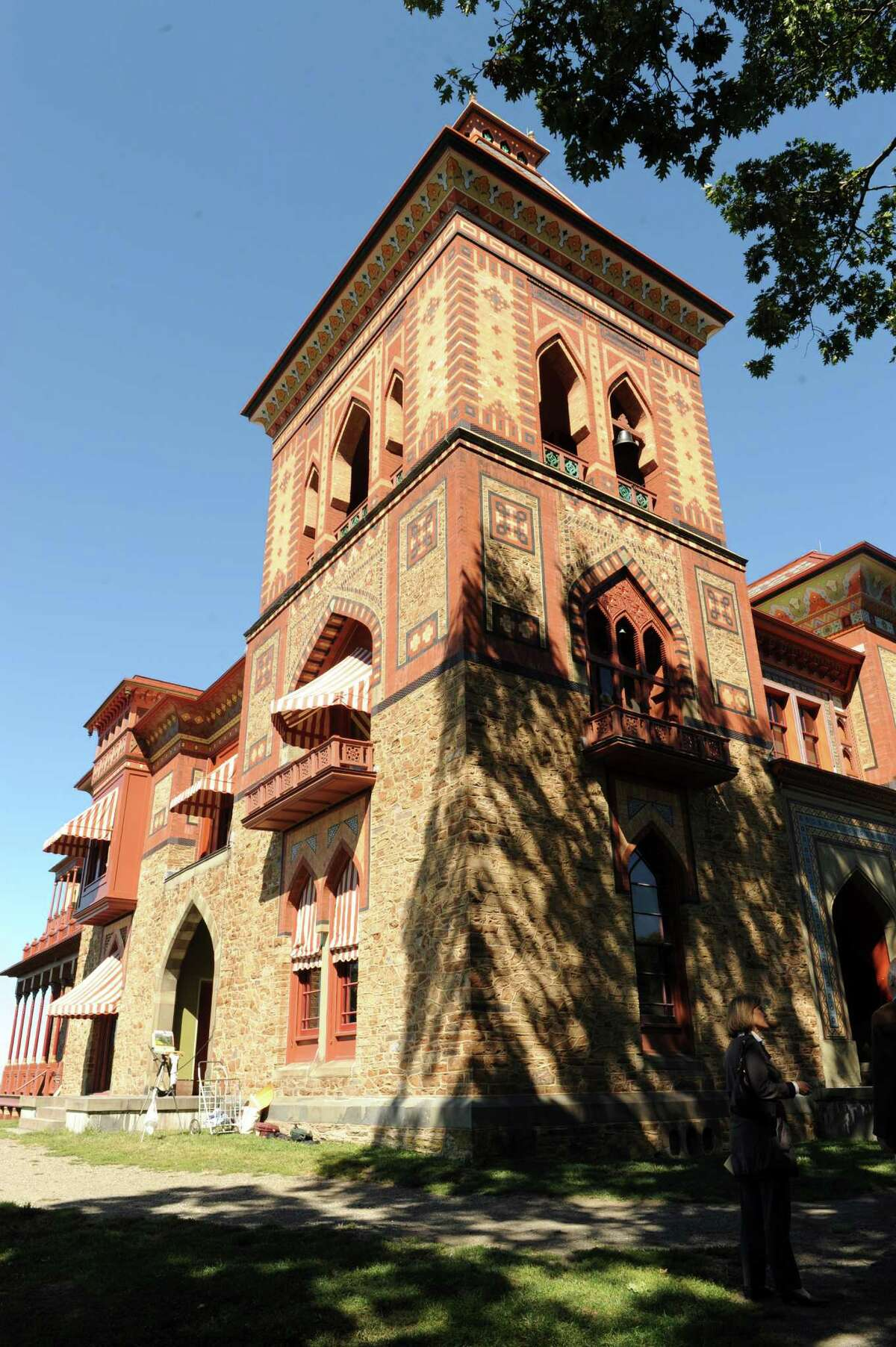 Olana the Hudson River School painter Fredrick Church's historic home on Thursday Sept. 19, 2013 in Hudson, N.Y. (Michael P. Farrell/Times Union)