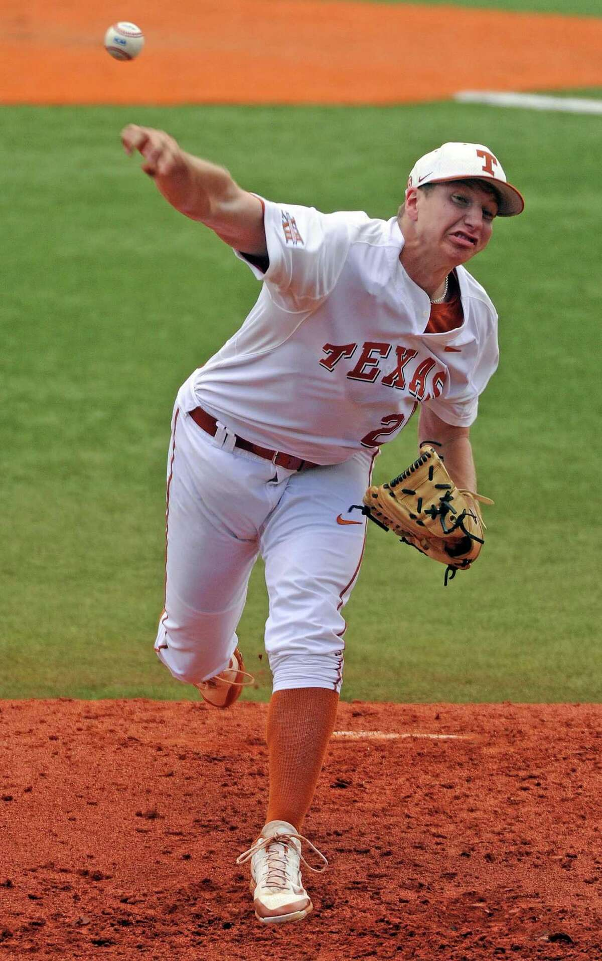 Parker French will begin the season as a starter and reliever but may eventually turn into the Longhorns' permanent closer.