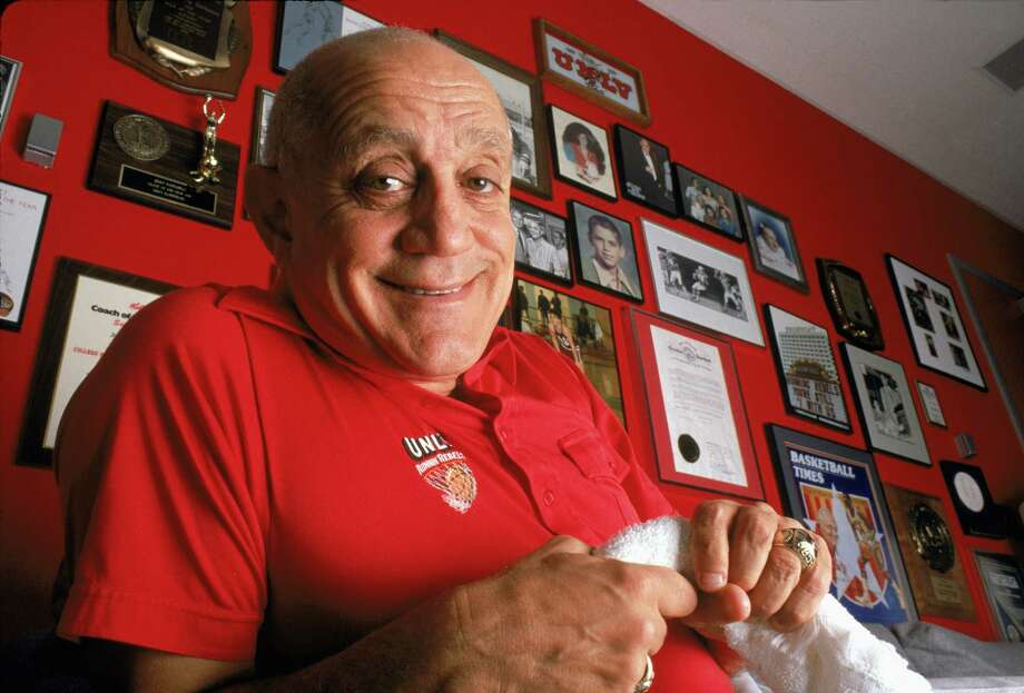 Jerry Tarkanian produced entertaining and success-ful teams during his colorful and often controversial career. Photo: Bernstein Associates, Contributor / 1989 Bernstein Associates