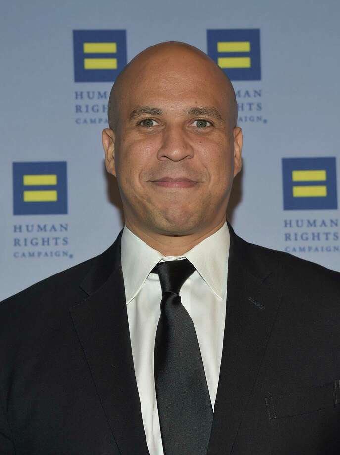 Sen. Cory Booker is a sponsor of a bill on bandwidth that's opposed by the Alliance of Automobile Manufacturers.  Photo: Grant Lamos IV, Stringer / 2015 Getty Images