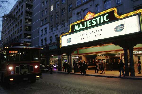 Alice Cooper fans descended on the Majestic Theatre on Wednesday night, Feb. 11, 2015, for the rocker's Raise the Dead tour.
