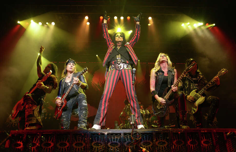 """Alice Cooper performs during his """"Raise the Dead"""" tour at the Majestic Theatre in San Antonio on Wednesday, Feb. 11, 2015. Photo: BILLY CALZADA, San Antonio Express-News / © 2015 San Antonio Express-News"""