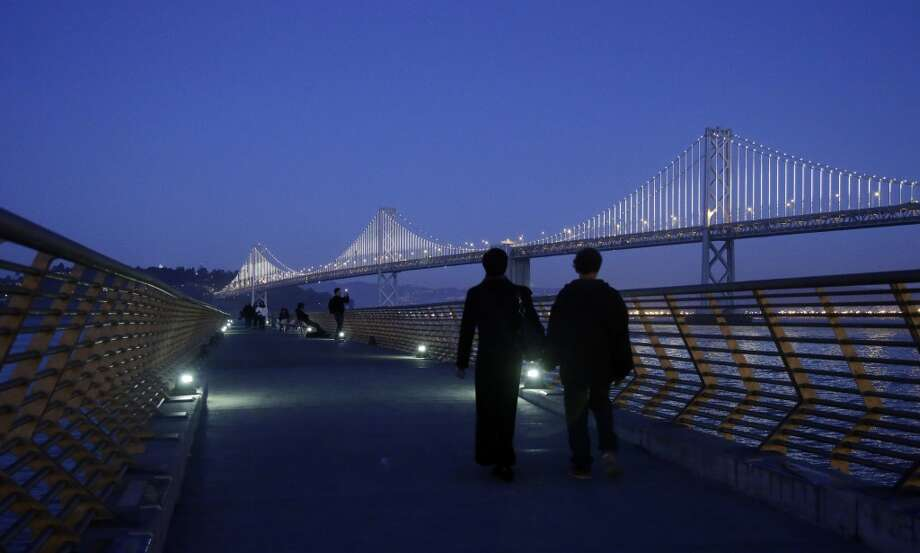 Need a last-minute idea for Valentine's Day? Click through the gallery to see some of the many romantic places and activities in S.F. that don't require a reservation. Photo: Marcio Jose Sanchez, Associated Press